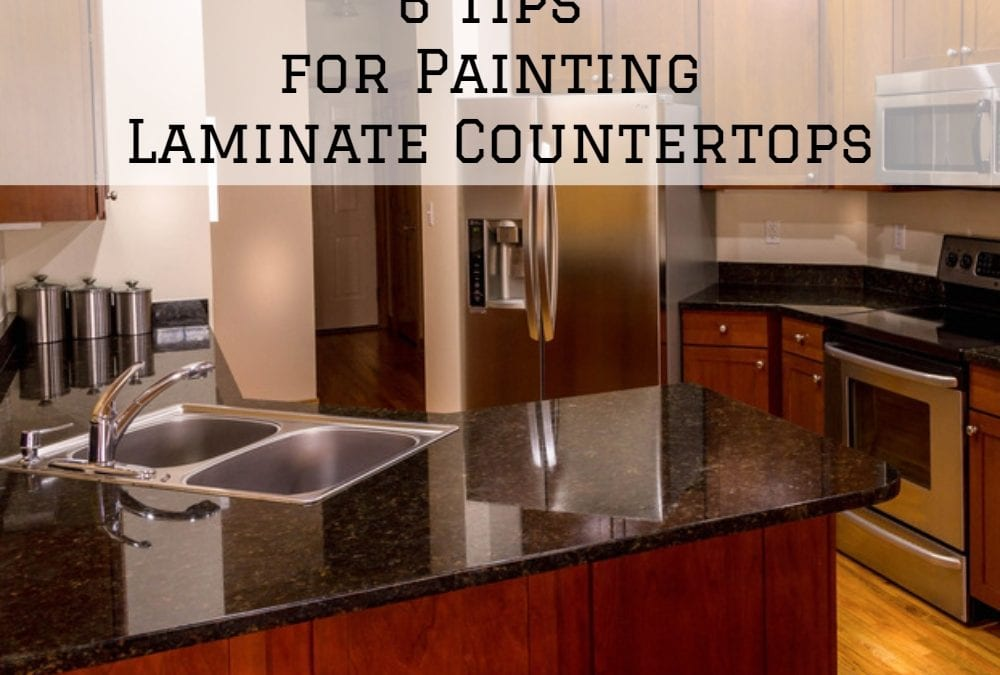 Laminate Countertop Painting Tips