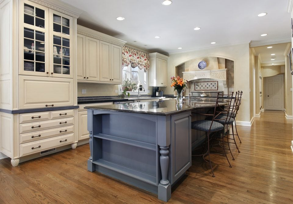 Kitchen Island Paint Colors