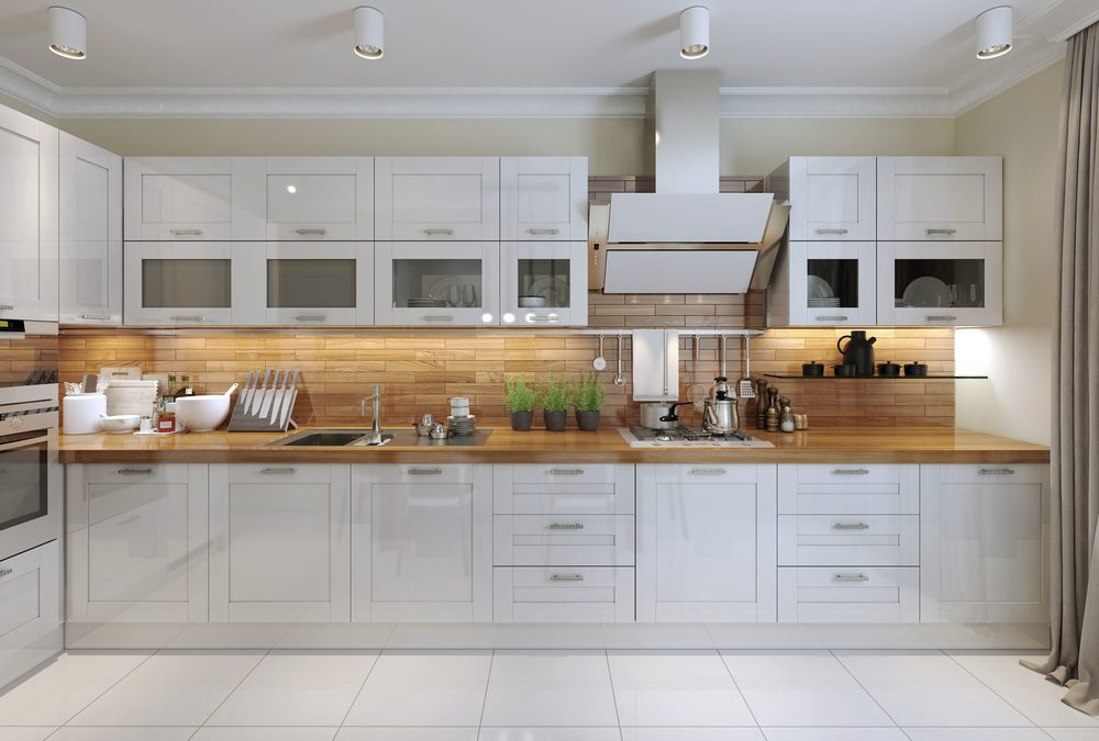 Thoughts on All-White Kitchen Cabinets