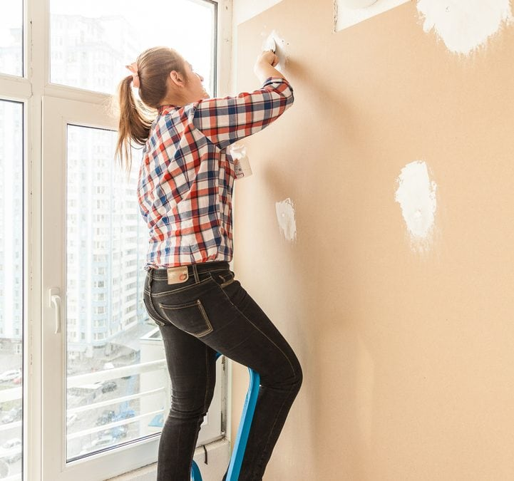 How to Do Simple Drywall Repair Before Painting Interior